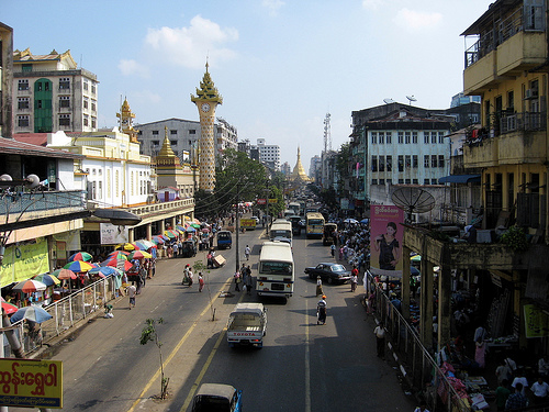 Мьянма, Махабандула стрит